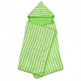 Green Sprouts - Muslin Hooded Towel Organic Cotton Green