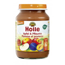 HOLLE APPLE PRUNE JAR 4+ 190G