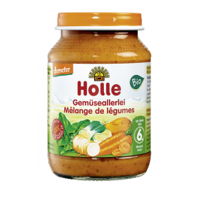 Holle Mixed Vegetables 190g 6+M