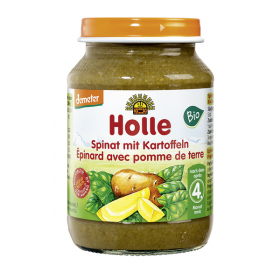 HOLLE ORGANIC SPINACH WITH POTATOES  4+190G