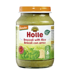 Holle Broccoli with rice 190g 4+M