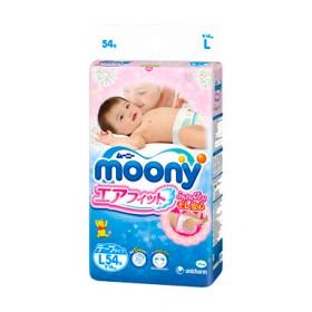 Moony L (9-14 kg) 54 pcs