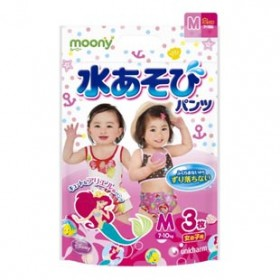 Moony girls aqua M (7-10 kg) 3 pcs
