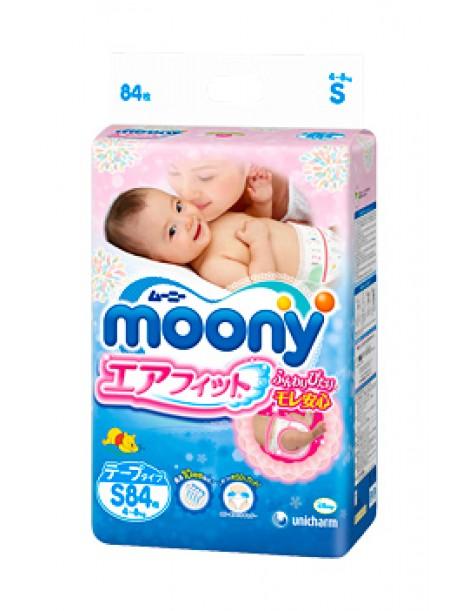 Moony S (4-8 kg) 84 pcs