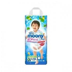 Moony pull-up nappies boys XL (12-17 kg) 38 pcs