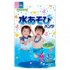 Moony boys aqua M (7-10 kg) 3 pcs