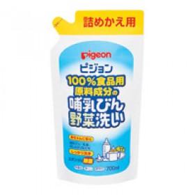 PIGEON Liquid Cleanser for Nursing baby Bottle and Vegetable 700 ml refill