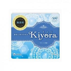 Sofy Kiyora scent-free no fragrance, 14cm, 72pcs.