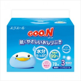 GOON wet tissues (refill) 70x3 pcs