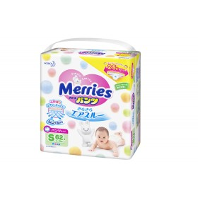 Merries S pull-up nappies  (4-8 kg) 62 pcs
