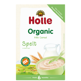 Holle Organic Milk Cereal with Spelt 250g 4+M
